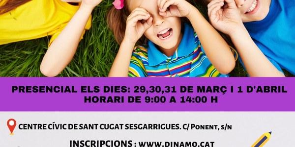 CURS DE PRE-MONITORS/ES DE LLEURE INFANTIL I JUVENIL A SANT CUGAT  SESGARRIGUES (COMPLET)