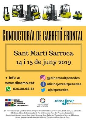 CONDUCTOR/A DE CARRETÓ FRONTAL A SANT MARTÍ SARROCA