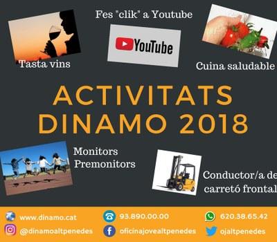 ACTIVITATS DEL DINAMO 2018