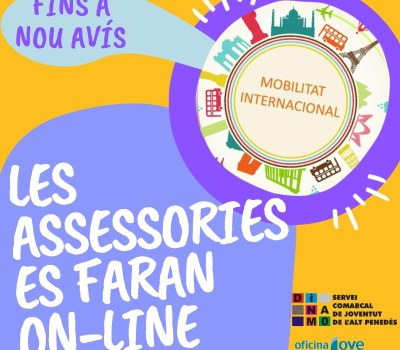 L'Assessoria de Mobilitat Internacional continua en peu!!!