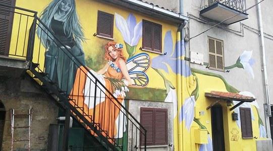 LAST CALL!STreet ART- INTERCANVI JUVENIL A VITERBO,  ITÀLIA.