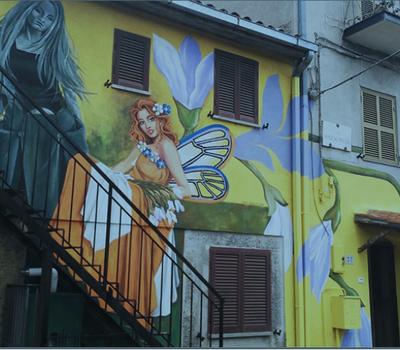 LAST CALL! STreet ART- INTERCANVI JUVENIL A VITERBO, ITÀLIA.