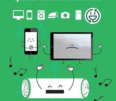"""Campanya per a fomentar la recollida selectiva dels residus d'aparells elèctrics i electrònics """"Canvia el xip. Recicla'ls!"""""""