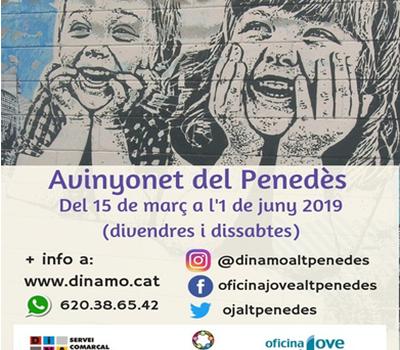 MONITORS/ES DE LLEURE A AVINYONET DEL PENEDÈS