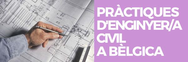 PRÀCTIQUES D'ENGINYER/A CIVIL A BÈLGICA