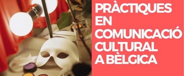 PRÀCTIQUES EN COMUNICACIÓ CULTURAL A BÈLGICA