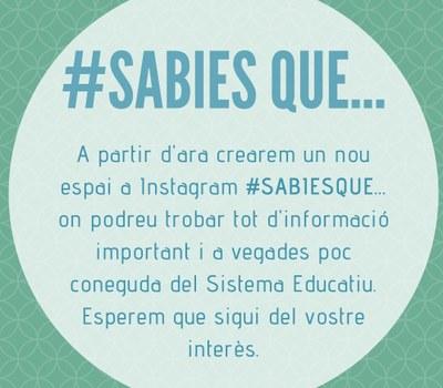 #SABIES QUE ...