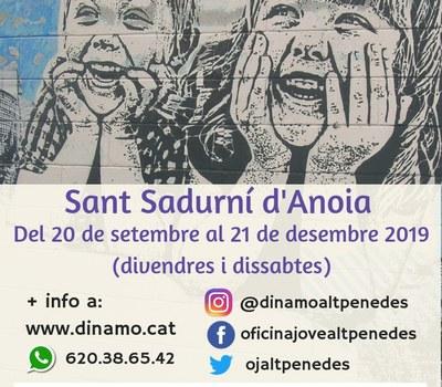 Curs de Monitor/a de lleure a Sant Sadurní d' Anoia (comença el 20 de Setembre).